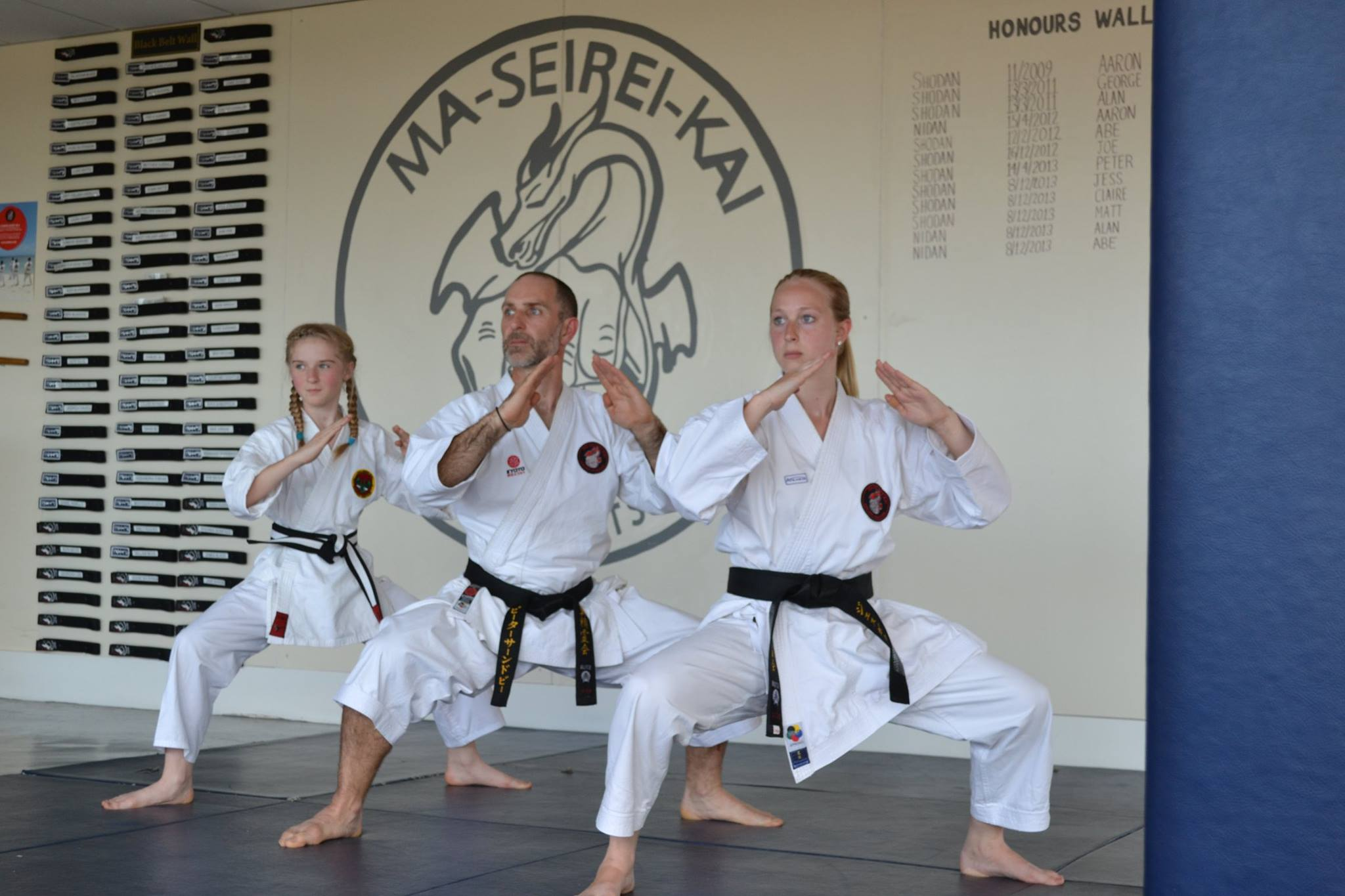 Sumo Stance, young, male and female